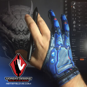 Morgan Designs Droid artist glove