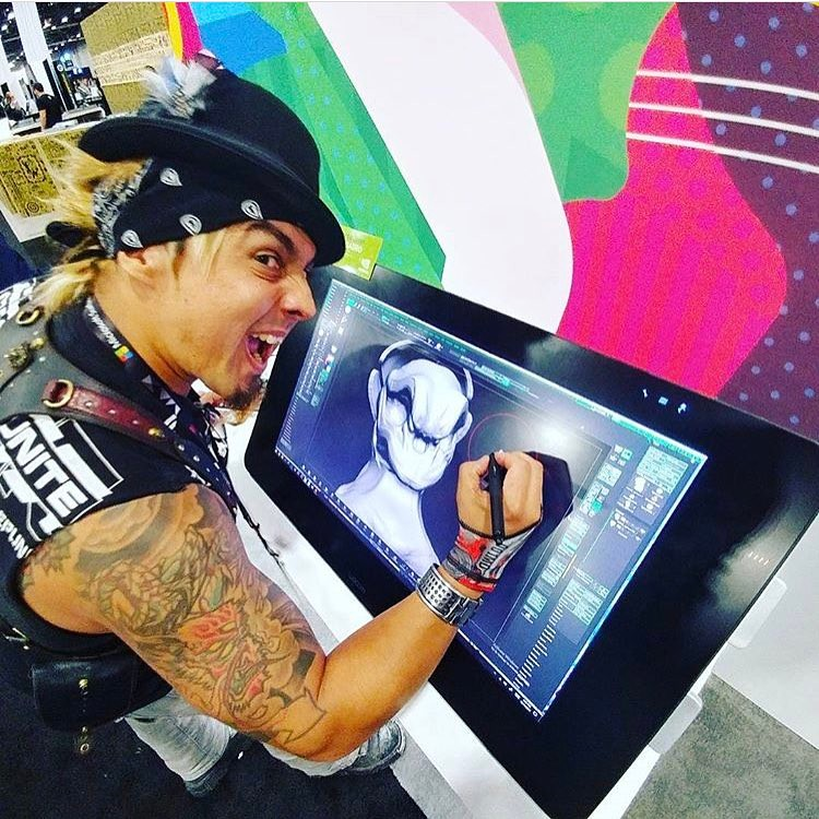 gearduran crushing today at the Adobe Max creativity conference